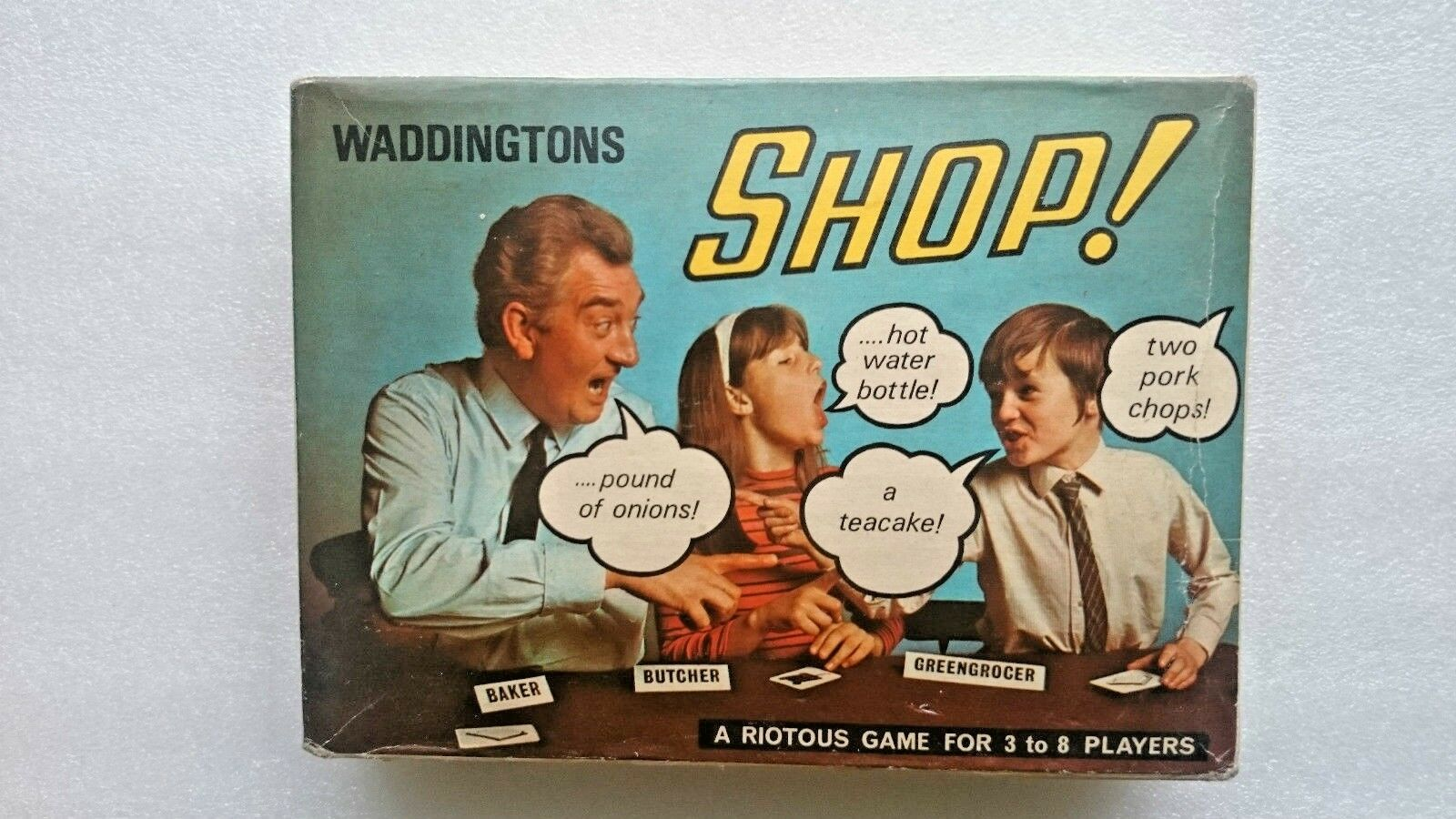 Shop!  Game By Waddingtons (1970)