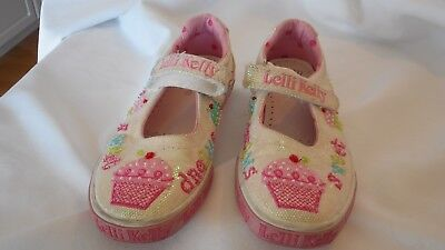 Cupcake Tennis Shoes (Lelli Kelly Cup Cake Tennis Shoes Size 33 Sweet Dreams)