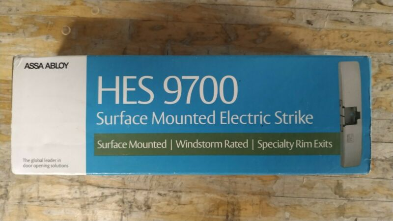 Factory Sealed HES 9700-630 Surface-Mounted Electric Rim Strike