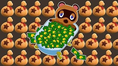 ANIMAL CROSSING NEW HORIZONS Nook Miles Tickets Bells - FAST INSTANT DELIVERY