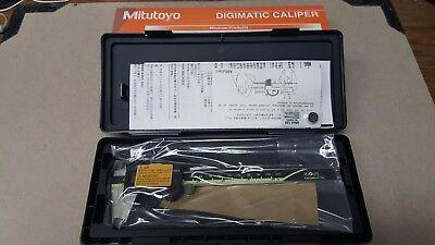 New Mitutoyo Digimatic Absolute 6 Caliper 500-196-20 Made In Japan