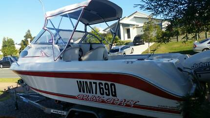 Cruise Craft Explorer 500 with 90 Johnson Coolum Beach Noosa Area Preview