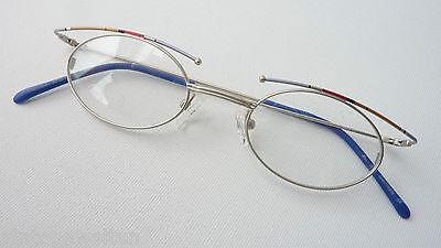 Brillen kleine ovale Form Metallgestell für Damen Mädchen ausgefallen Grösse S