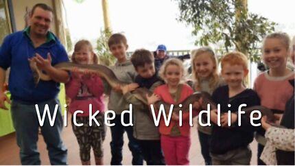 Wildlife Presentations - Birthday Parties - School Incursions