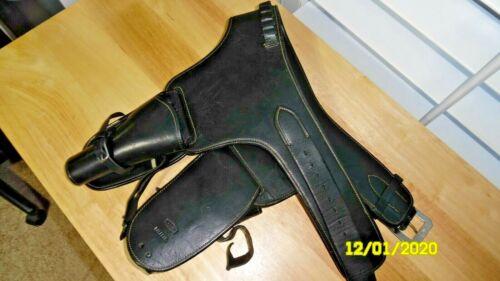 Edward H. Bohlin Leather Western/Cowboy Double Holster & Belt Rig