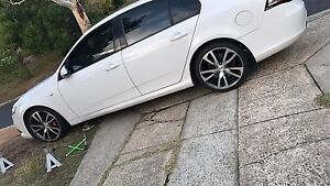 "Genuine ford fpv twist 19"" wheels good rubber Flynn Belconnen Area Preview"