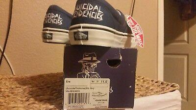 Vans Suicidal Tendencies men's size 11 NEW IN BOX OG VINTAGE