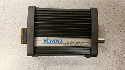 Verint S1801e Network Video Encoder