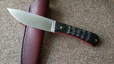 "G.Dedyukhin fixed hunting knife ""Balem-Meza"" CPM-3V Handmade in Bark River Style"