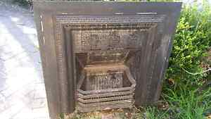 Cast iron fireplace heater indoor Terrey Hills Warringah Area Preview