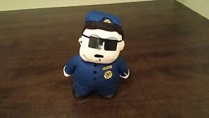 "Peluche / Toutou South Park ""OFFICIER BARBRADY"" 8pouces"
