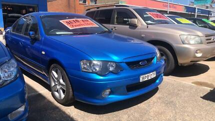 2003 Ford Falcon XR6 LPG & Petrol ! Fully Serviced & Inspected !! Granville Parramatta Area Preview