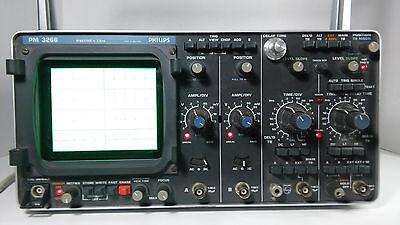 Philips Pm 3266 Oscilloscope Working