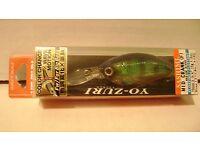 """yo zuri sashimi flat crank 2 3//4/"""" 1//2 oz floating r1063 crankbait assortment"""