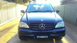 CHEAPEST PRICED 2001 Mercedes-Benz ML320 AUTO Ingleburn Campbelltown Area Preview