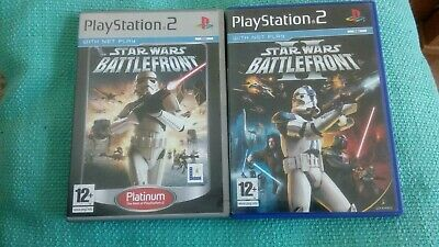Star Wars Battlefront I & 2 Ps2 Games Bundle PlayStation 2 UK PAL