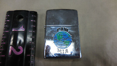 Mia High Polish (B Zippo 04  POW MIA High Polish Chrome 2004)