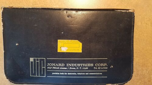 Jonard Tool Packet made in Austria with many German Tools for Old Technicians