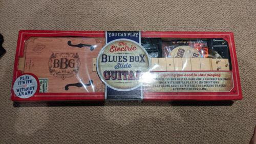 New Hinkler Electric Blues Box 3 String Slide Guitar Kit