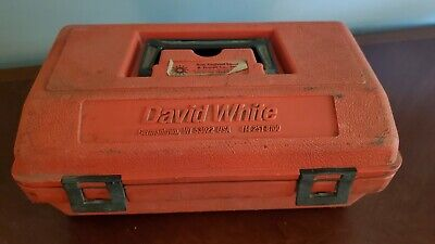 David White Lp6-20 Sight Level With Case