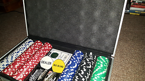 Poker Set + Chips and Cards Chelsea Kingston Area Preview