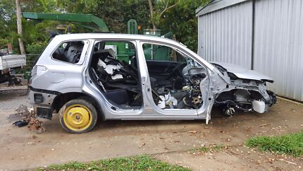 Wrecking 2014 subaru forester ee20 diesel vw kombi conversion