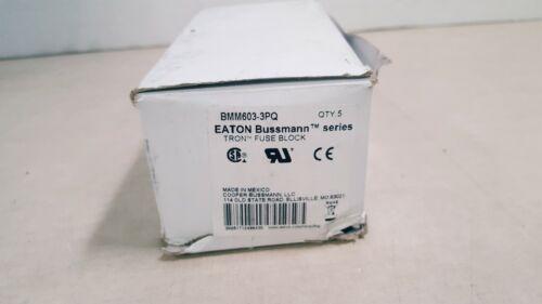 Eaton Bussmann Fuse Block BMM603-3PQ (5 Pack)
