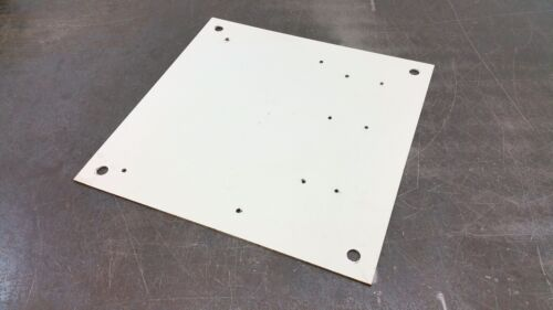 """Hammond 13""""X13"""" Electric Enclosure Panel Backplate Control Box Back Plate"""