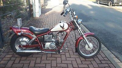 Original Honda Jazz 50  AC09 Chopper Moped megaselten. online kaufen