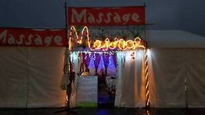 Massage Work at Woodford Folk Festival