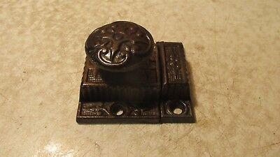 Antique Cast Iron Eastlake Cupboard Latch  No. 2