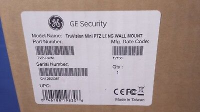 GE Security TVP-LWM TruVision PTZ Mini Long Wall Mount (Ge Security Wall)