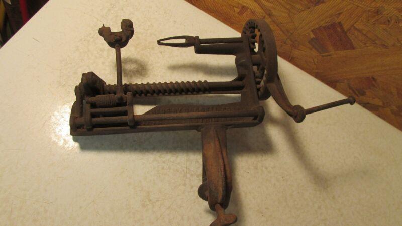Antique Goodell Family Bay State Cast Iron Apple Peeler