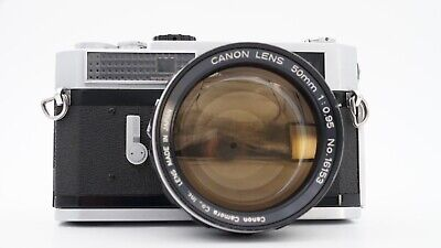 "Canon 50mm F0.95 ""Dream Lens"" w/ Canon 7 Rangefinder-EP Marked-Youxin Ye CLA"
