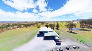 AUCTION! 37ac RURAL & 1+ac COMMERCIAL & 800+sqm SHEDS & 4bed HOME Sheep Station Creek Somerset Area Preview
