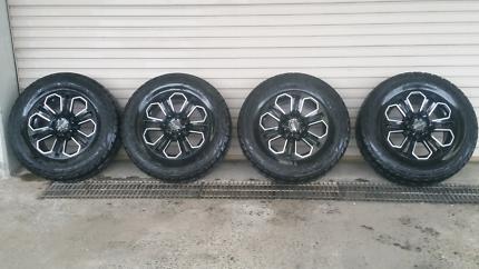Wheels to suit  Triton, Ranger, Hilux, Colorado, BT50