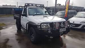 "2010 Nissan Patrol ST Tray Ute 4X4 TURBO DIESEL LOW KMS ""TIPPER"" Williamstown North Hobsons Bay Area Preview"