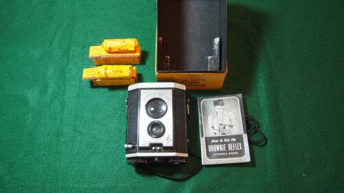 Eastman Kodak Brownie Reflex Syncro INCLUDES ***FILM BOX INSTRUCTIONS***