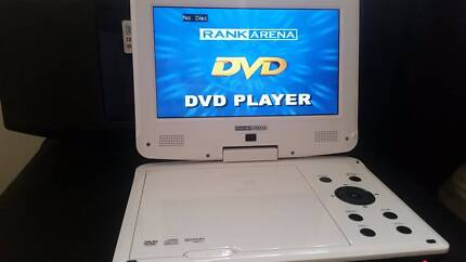 Portal Dvd player, with normal and car charger