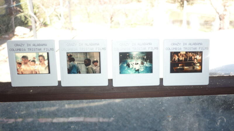 COLLECTION OF 4 ORIGINAL MOVIE FILM CELLS, CRAZY IN ALABAMA, MELANIE GRIFFITH 2