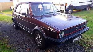 VW Golf GTI Convertible MK1 1983 Earlwood Canterbury Area Preview