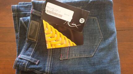 Womens Draggin Minx Motorcycle Jeans Size 12 Bungendore Queanbeyan Area Preview