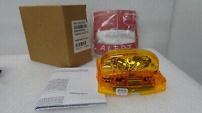 Simplex 4906-9205 Amber Alert Mcvo Wall Mount Fire Alarm Strobe Multi Cd