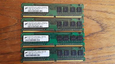 2GB (4x 512MB) PC4200U Memory RAM