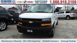 2018 Chevrolet Express 2500 Extended Cargo, Rear Windows, Rear C
