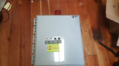 ZOELLER 10-0884 REV-A Single Phase Simplex Control Panel w/ Alarm -- REDUCED!!
