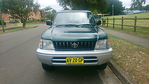 1996 Green Toyota Prado GLX Campsie Canterbury Area Preview