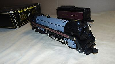 Weaver O Gauge 2858 Canadian Pacific 4 6 4 Royal Hudson Steam Engine In Or Box
