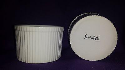2  Sur La Table Round Porcelain Ramekins