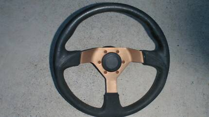 Datsun 120y aftermarket steering wheel with boss kit Alexandra Hills Redland Area Preview